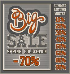 Big Sale Collection Stock Photography