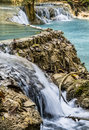 Free Kuang Si Falls - Waterfalls At Luang Prabang, Laos Stock Photo - 30337550