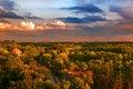 Free Sunset Glow Of Park Royalty Free Stock Photos - 30337878