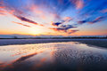 Free Sunset Glow Of Lake Royalty Free Stock Photo - 30338185
