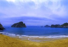 Free Cat Co 3 Beach. Cat Ba Town. Stock Image - 30338161