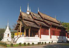 Free Wat Phra Singh Royalty Free Stock Photos - 30338368