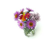 Free Flowers In A Glass Royalty Free Stock Photography - 30338397