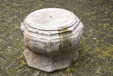 Free Stone Bench Royalty Free Stock Photo - 30338955
