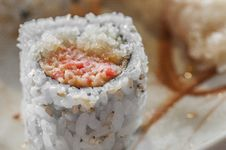Free Japanese Rice Sushi Royalty Free Stock Photo - 30341875