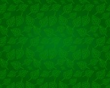 Free Seamless Leafs Green Pattern, Vector Royalty Free Stock Photos - 30344658