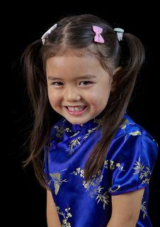Free Little Philippino Girl Stock Image - 30349581