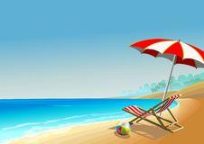 Free Summer Beach Royalty Free Stock Image - 30352216