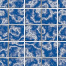 Free Blue Tile Seamless Background Stock Photography - 30353542