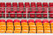 Free Rows Of Empty Plastic Stadium Seats Royalty Free Stock Images - 30351099