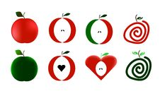 Free Vector Apples Royalty Free Stock Photography - 30361697