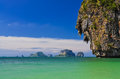 Free Ocean Coast Landscape With Cliffs And Islands At Phra Nang Bay Stock Photography - 30374782