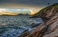 Free Sunset Seascape, Samed Island Royalty Free Stock Photo - 30375305