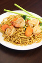 Free Hokkien Noodles With Prawn. Royalty Free Stock Image - 30376496