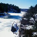 Free Wintry River Study Royalty Free Stock Photography - 30378077