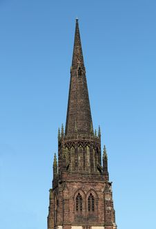 Free Church Spire. Royalty Free Stock Photography - 30370187