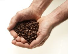 Free Two Hands With Coffee Stock Images - 30371744