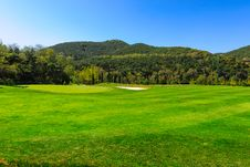Free Wooden Club Island Golf Course Stock Photo - 30373450