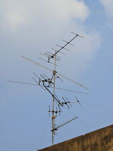 Free Old Antenna Stock Photos - 30373723