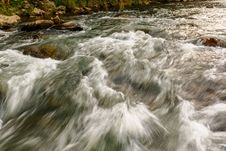 Free The Turbulent Flow Royalty Free Stock Photo - 30373795