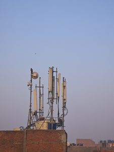 Free Set Of Antenna Stock Images - 30374254