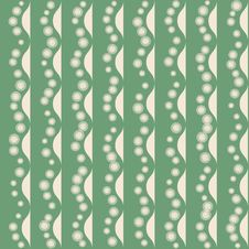 Free Seamless Pattern With Stripy Ornament Stock Images - 30376934