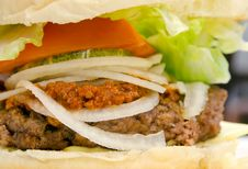 Free Chili Burger Royalty Free Stock Photos - 30377618