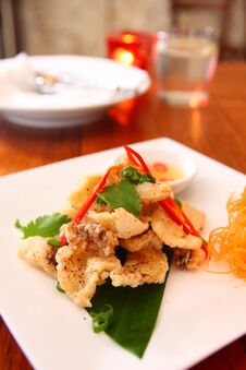 Free Salt And Pepper Squid Stock Photography - 30377852