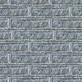 Free Seamless Texture Of Gray Decorative Bricks Wall. Stock Photos - 30389053