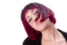 Free Portrait With Red Hair Stock Image - 30380091