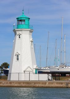 Free Lighthouse & Sailboats Stock Images - 30380534