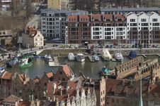 Free Boat Dock In Gdansk Royalty Free Stock Photos - 30384848