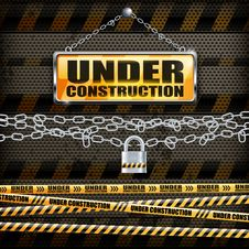 Free Under Construction Sign & Lock Stock Photos - 30385973