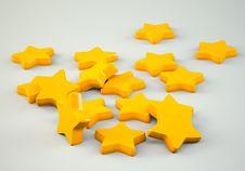 Free Golden Stars Royalty Free Stock Photos - 30387618