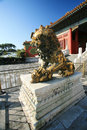 Free The Palace Museum Bronze Lions Royalty Free Stock Photos - 30394398