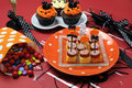 Free Happy Halloween Party Table Stock Photos - 30399583