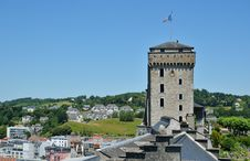 Free Summer View Of Lourdes Stock Images - 30392704