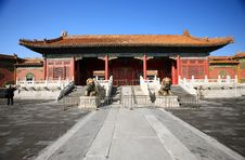 Free National Palace The Ning Shou Door Beijing China Stock Image - 30394051