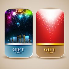Free Gift Cards Royalty Free Stock Photo - 30394825