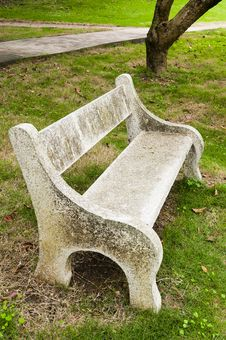 Free Stone  Chair Royalty Free Stock Images - 30399339