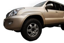 Free 4x4 Golden Car Stock Photo - 3040000