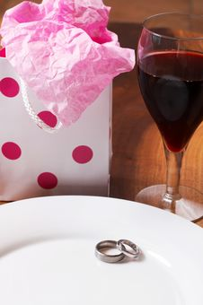 Free Table Setting At A Celebration Royalty Free Stock Photos - 3041988