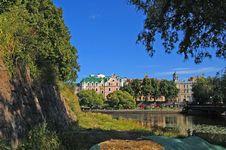 The Old Vyborg Stock Photo