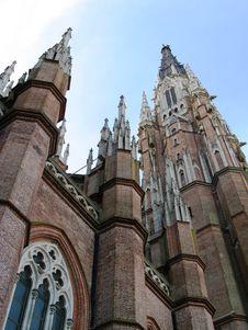 Cathedral, La Plata Royalty Free Stock Photos