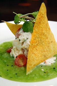 Free Chicken Salad 2 Royalty Free Stock Image - 3043856
