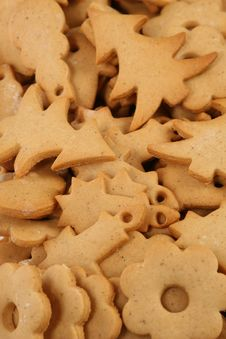 Free Gingerbread Cookies Royalty Free Stock Photography - 3044347