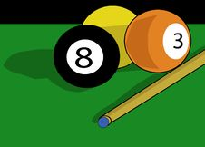 Free Billiards Balls Royalty Free Stock Image - 3044496