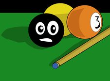 Free Billiards Balls Royalty Free Stock Photography - 3044497