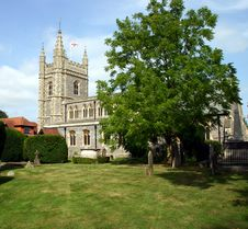 Free Beaconsfield Parish Church Stock Photo - 3044680