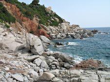 Arbatax Sardinia Stock Image